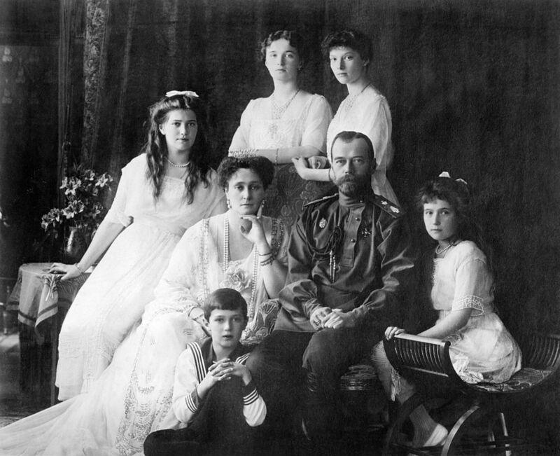 Император любил свою супругу и детей. Источник фото: Википедия