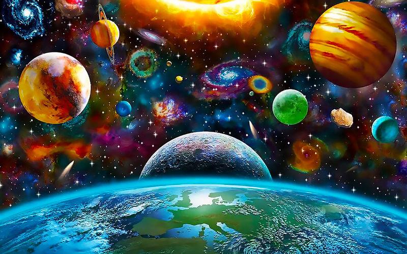 создание картинок космос взрослые особи размножаются